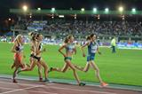 Federica del Buono (second from right) in the 1500m in Rovereto (Daniel Mosna)