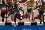 Yacob Jarso of Ethiopia on his way to break the 28-year-old national record (Getty Images)