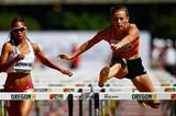 Nadine Visser in the 100m hurdles at the IAAF World Junior Championships, Oregon 2014 (Getty Images)