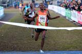 Muktar Edris wins the senior men's race at Campaccio (Giancarlo Colombo)