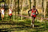 John Ngugi leads the 1989 World XC in Stavanger, Norway (Getty Images)