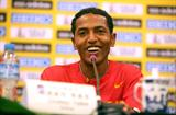 Drive for five - Zersenay Tadese as the pre-champs press conference in Nanning (Getty Images)