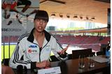 Blanka Vlasic in the Letzigrund Stadium at the press conference to promote the Weltklasse Zürich (Marcel Giger)