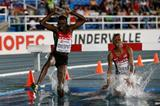 The girls' 2000m steeplechase final at the IAAF World Youth Championships, Cali 2015 (Getty Images)