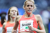 Lynsey Sharp wins the 800m at the ISTAF meeting in Berlin (Gladys Chai von der Laage)