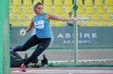 Sandra Perkovic, winner of the discus at the 2015 IAAF Diamond League meeting in Doha (DECA Text & Bild)