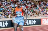 Asbel Kiprop goes to fourth on the 1500m world all-time list at the 2013 Monaco Diamond League (Philippe Fitte)