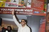 Javier Sotomayor at the  IAAF Centenary Historic Exhibition in Barcelona (Giancarlo Colombo)