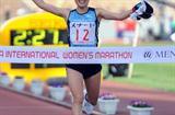 Yuri Kano wins 2010 Nagoya International Women's Marathon in 2:27:11 (Kazuaki MATSUNAGA/Agence SHOT)