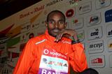 Ibrahim Jeilan ahead of the 2013 Rock'n'Roll Vodafone Half Marathon of Portugal in Lisbon  (Andrew McClanahan - PhotoRun / organisers)