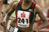 Meseret Defar en router to her 8:23.72 World record in Stuttgart in 2007 (Bongarts)