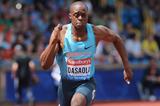 James Dasaolu at the IAAF Diamond League meeting in Birmingham (Getty Images)