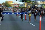 Bernardo Segura (MEX) approaches the 20km finish in Tijuana at the IAAF Race Walking Challenge (Juan Ramón Piña de la Fuente)