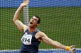 USA's Conor McCullough releases the Hammer out to a Championship Record of 80.79m (Getty Images)