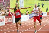 Kevin Borlee anchors Belgium to a European 4x400m record at the European Indoor Championships (Getty Images)