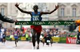 Martin Lel wins his third Flora London Marathon title (Getty Images)