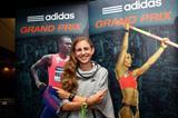 Mary Cain ahead of the 2014 IAAF Diamond League meeting in New York (Andrew McClanahan)