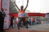 Deriba Merga defends his title at the Delhi Half Marathon (Airtel Delhi Half Marathon organisers)