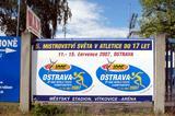 A billboard for the IAAF World Youth Championships (Bob Ramsak)