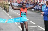 Priscah Jeptoo wins the 2013 Bupa Great North Run (Mark Shearman)