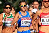 Italy's Eleonora Giorgi in the 20km race walk at the 2013 IAAF World Championships (Getty Images)