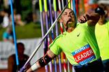 Trey Hardee in the javelin at the Hypo Meeting in Götzis (PHOTO PLOHE)