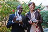 2010 World Athletes of the Year David Rudisha and Blanka Vlasic (Philippe Fitte)