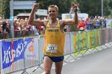 Joans Buud winning the 2015 IAU 100km World Championships (Meijco van Velzen)