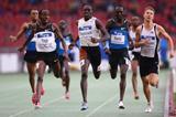 Alfred Kirwa Yego winning the 800m in Stuttgart (Getty Images)
