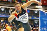 Germany's Christina Schwanitz in action in the shot at the IAAF World Indoor Championships (Getty Images)