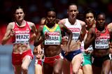 Genzebe Dibaba in her 1500m heat at the IAAF World Championships, Beijing 2015 (Getty Images)