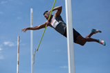 Yordanis Garcia in the decathlon pole vault (Brian Rouble)