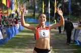 All smiles - Leonor Carneiro defends her Amora cross title (Marcelino Almeida)