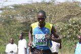 Timothy Kiptoo winning at the 2013 Athletics Kenya Prisons Cross Country Championships  (Stafford Ondego - The Standard)