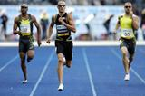 Jeremy Wariner powers to the finish in Berlin in 2007 (Getty Images)