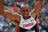Damian Warner of Canada competes in the Men's Decathlon Long Jump on Day 12 of the London 2012 Olympic Games at Olympic Stadium on August 8, 2012  (Getty Images)