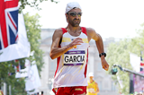 Jesus Angel Garcia in the 50km race walk at the 2012 Olympics in London (Getty Images)