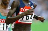 Lornah Kiplagat (NED) running in the 2003 World 10,000m final (Getty Images)
