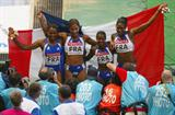 The French 4x100m realy team (Getty Images)