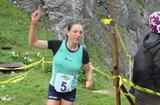 Lucija Krkoc claims the difficult victory in Kamnik (Tomo Sarf)