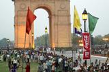 India Gate which is situated on the route of the 2004 World Half Marathon (Getty Images)
