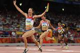 Russia take a surprise victory in the women's 4x100m final (Getty Images)