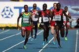 Action shot in the mens 5000m at the IAAF World Athletics Championships Moscow 2013 (Getty Images)