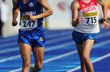 In a dramatic finish Pavel Parshin (r) of Russia takes the World Youth 10,000m title in Lille (Getty Images)