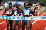 Maria Mutola of Mozambique wins 13th Prefontaine's 800m (Kirby Lee)