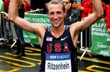 Dathan Ritzenhein secures the bronze medal at the IAAF/EDF Energy World Half Marathon Championships in Birmingham (Getty Images)