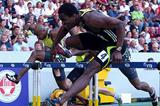 Dayron Robles speeds to 12.92 seconds in Stuttgart (Getty Images)