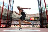 Nadine Muller in the discus qualifying at the IAAF World Championships, Beijing 2015 (Getty Images)