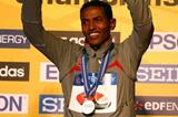 Zersenay Tadese successfully defends his IAAF World Half Marathon Championships title in Birmingham (Getty Images)
