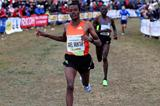 Ethiopia's Muktar Edris winning at the 2013 Cinque Mulini race (Gianfranco Colombo)